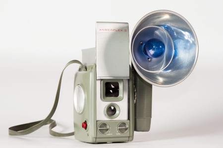 Anscoflex II Camera with Flash