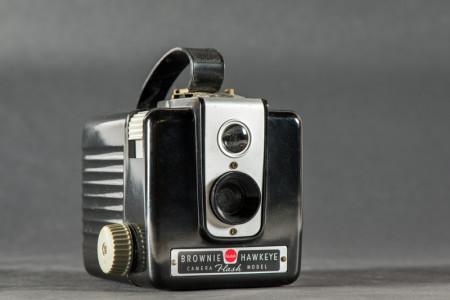 Brownie Hawkeye Flash Camera Front