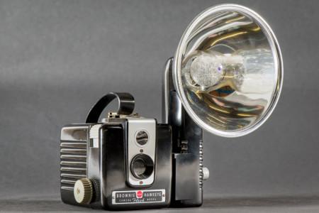 Brownie Hawkeye Flash Camera With Flash