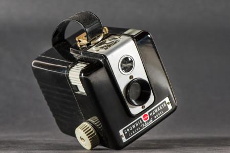 Brownie Hawkeye Flash Camera-5