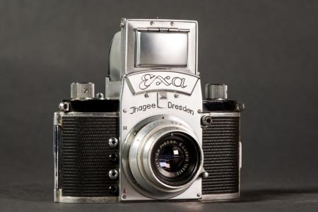 Ihagee Exa Camera Front