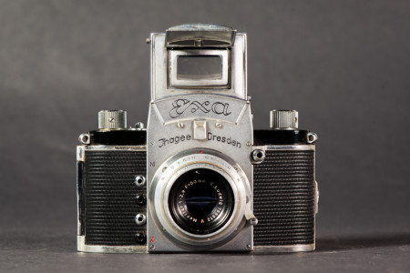 Ihagee Exa Camera With Finder