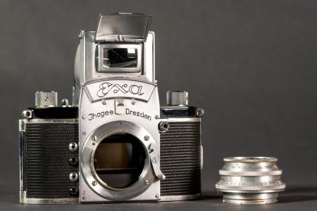 Ihagee Exa Camera Removeable lens