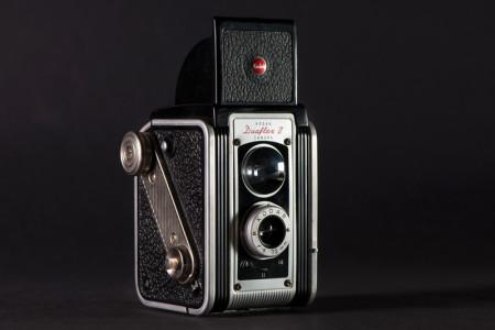 Kodak Duaflex II Camera Shutter Release Side