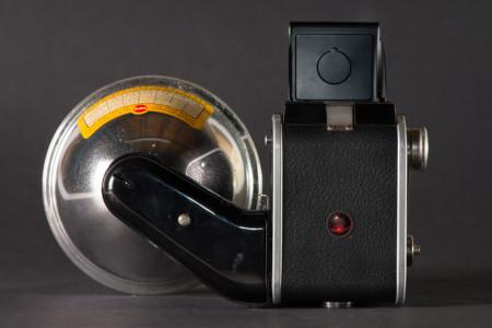 Kodak Duaflex II Camera Back With Flash