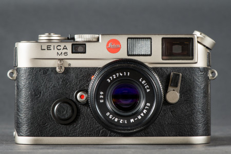 Leica M6 Camera Front