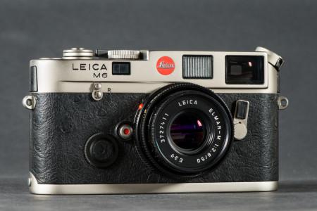 Leica M6 Camera Lens Collapsed