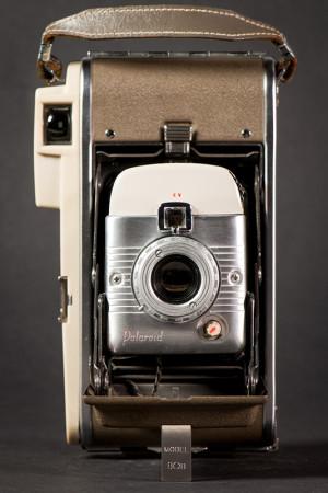 Polaroid Model 80B Camera Open