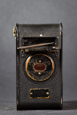 Vest Pocket Kodak Autographic Camera Back With Opening For Writing
