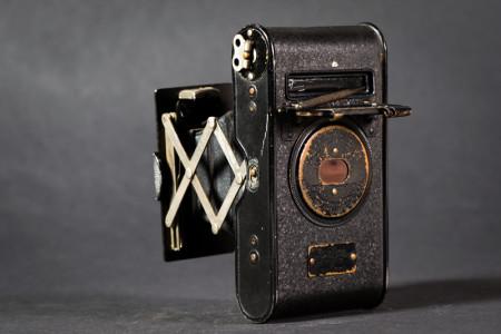 Vest Pocket Kodak Autographic Camera Back With Stylus