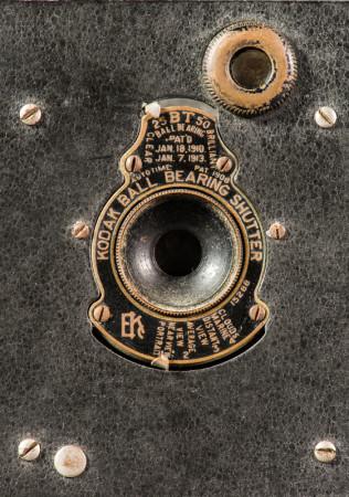 Vest Pocket Kodak Autographic Camera Shutter Detail
